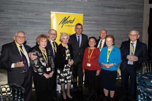 Survivors with his Excellency the Ambassador Mark Regev