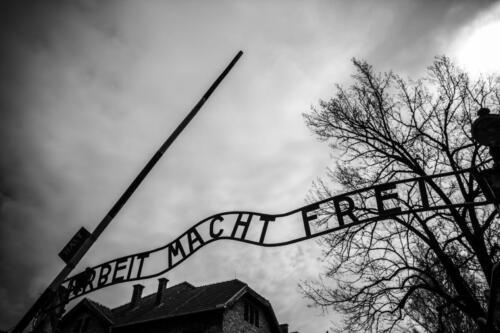 Auschwitz Sign (1)